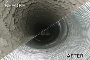 before after duct
